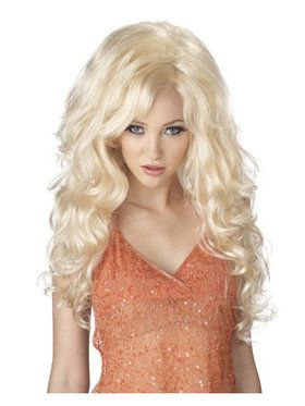 Adult Bombshell Wig- Blonde