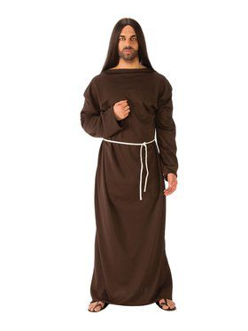 Adult Brown Biblical Robe for Halloween