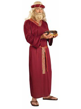 Adult Burgundy Wiseman Costume
