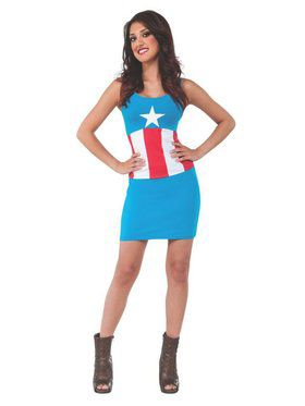 Captain America Tank Dress for Adult