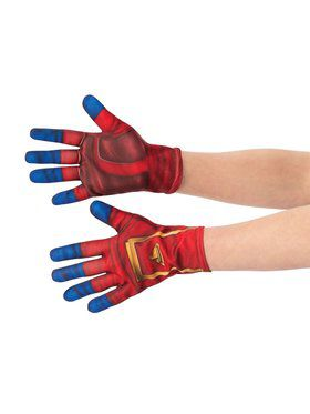 Captain Marvel Gloves for Adults