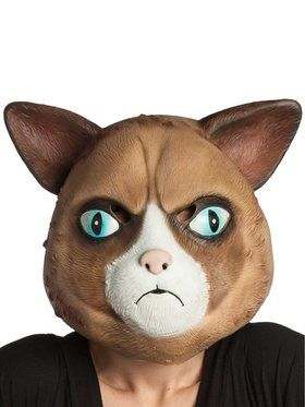 Adult Catitude Latex Cat Mask