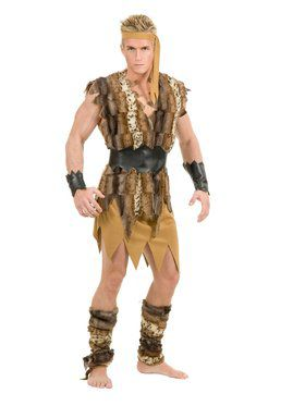 Adult's Cool Caveman Costume