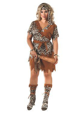 Cavewoman Costume for Adult