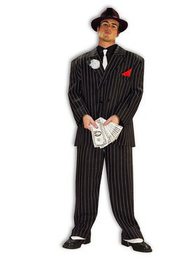 Mens Chicago Mobster Costume