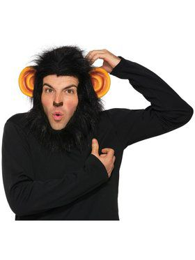 Chimp Headpiece for Adults