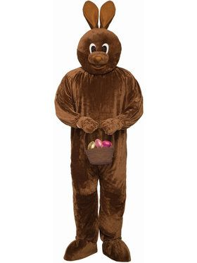 Adult Chocolate Bunny Costume