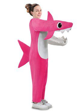 Chompin' Mommy Shark Costume w/ Sound Chip for Adult