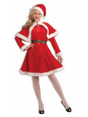 Mrs claus christmas costumes at low wholesale prices adult classic miss santa costume solutioingenieria Gallery