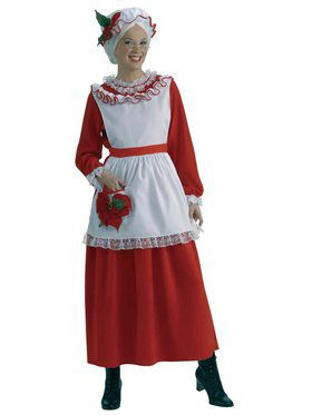 Adult Classic Mrs. Claus Costume