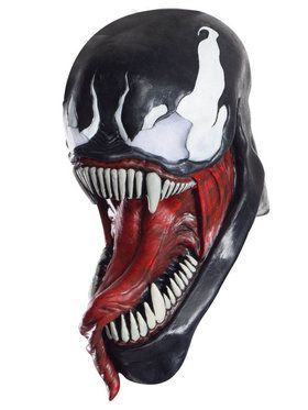 Adult Classic Venom Signature Series Mask