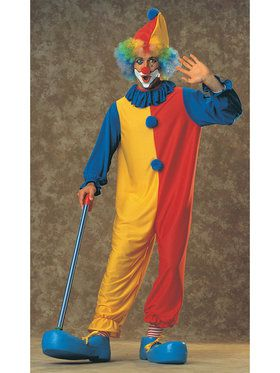Mens Adult Clown Costume