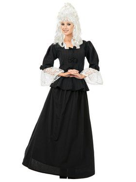 Adult Colonial Woman Costume