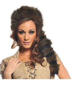 Adult Coonskin Hat