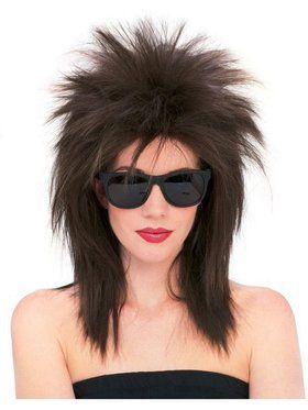 Dark Brown Superstar Wig for Adult