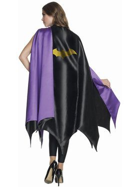 Adult Deluxe Batgirl Cape For Adults