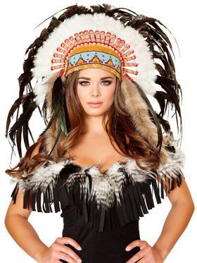 Adult Deluxe Native American Headdress