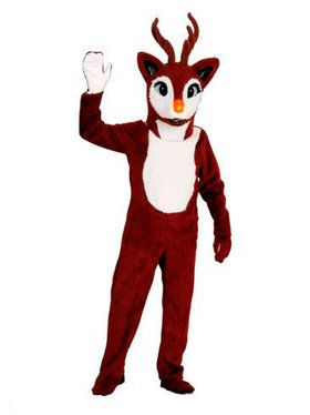 Reindeer Mascot Style Costume for Adults