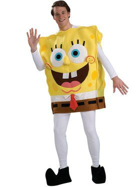 **Adult Deluxe Spongebob Costume