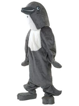 Adult Dolphin Mascot Costume