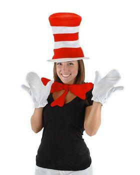Adult Dr. Seuss Cat In the Hat Accessory Kit