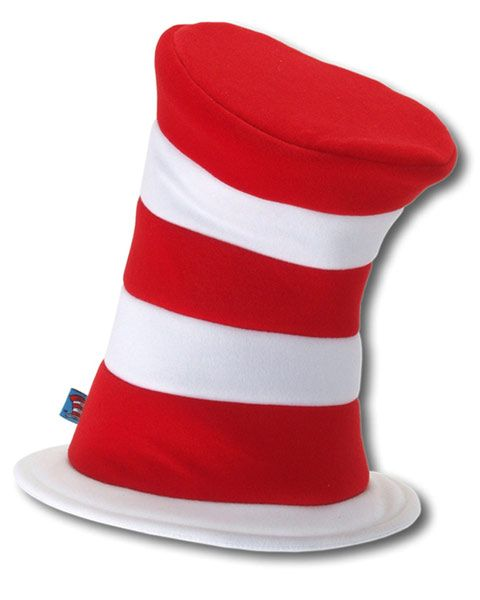 Adult Dr Seuss Cat In The Hat Deluxe Hat LA3508EL