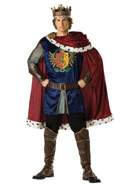 Adult Elite Noble King Costume