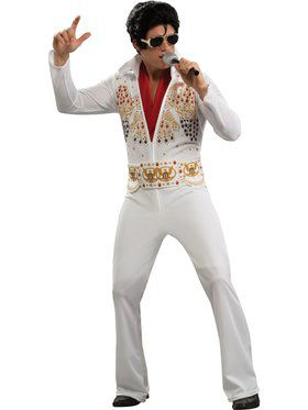 Adult Elvis Costume  sc 1 st  Wholesale Halloween Costumes & Mens Big u0026 Tall Halloween Costumes at Low Wholesale Prices