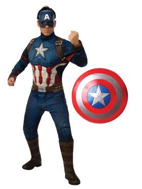 Adult Endgame Captain America Costume Kit