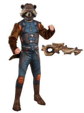 Adult Endgame Rocket Raccoon Costume Kit