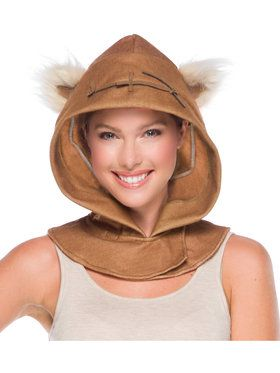Adult Ewok Hoodpiece