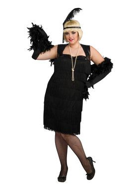 Womens 20's Flapper Costume