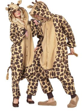 Adult Funsies Georgie Giraffe Costume Women's Costume
