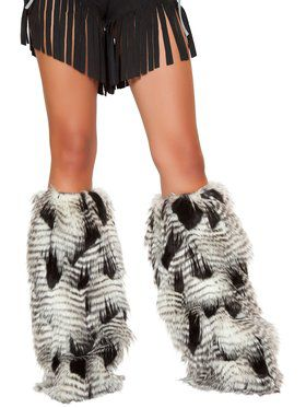 Adult Furry Leg Warmers