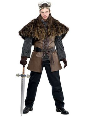 Mens Standard Furry Short Cape
