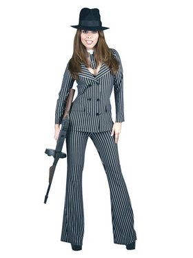 Adult Gangster Moll Costume