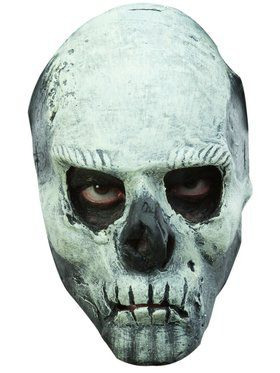 Glow in the Dark Skull Mask Accessory