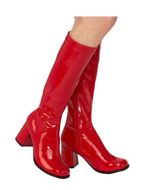 Adult Red GoGo Boots