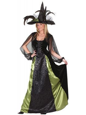Adult Goth Maiden Witch Costume  sc 1 st  Wholesale Halloween Costumes & Womens Witch Halloween Costumes at Low Wholesale Prices