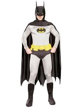 Adult Grey Batman Costume