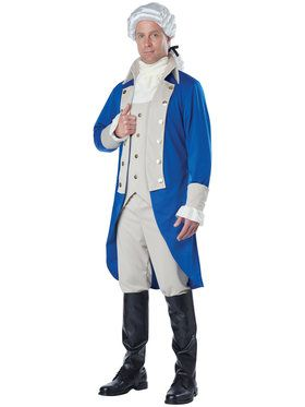 Adult Hamilton/Washington Costume