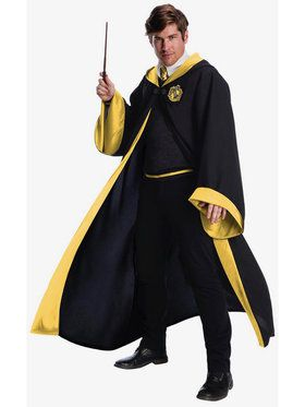 harry potter hufflepuff student costume for adults sc 1 st wholesale halloween costumes image number
