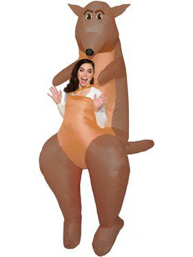 Inflatable Kangaroo Costume for Adults