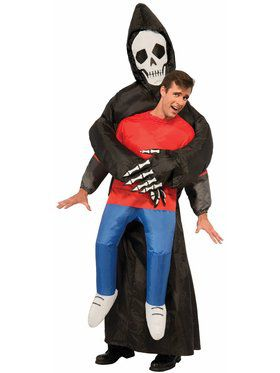 The Adult Inflatable Reaper Costume