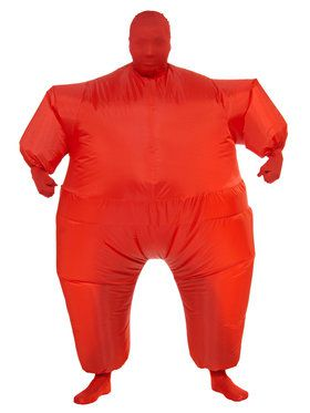 Adult Inflatable Red Jumpsuit