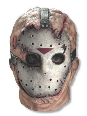 Overhead Latex Adult Jason Mask