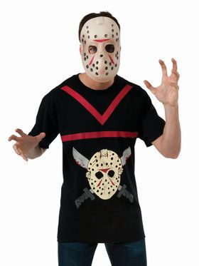 Adult Jason Shirt and Hockey Mask