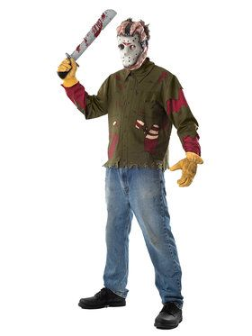 Adult Jason Shirt and Mask