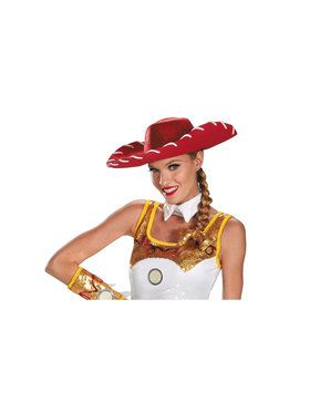Toy Story Adult Jessie Glam Hat and Bow Set
