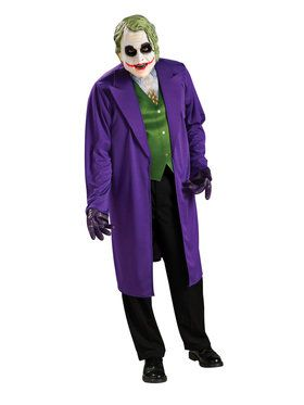 Mens Adult Joker Costume